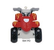 ATV Quad Christmas Ornament RM192
