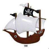 PIRATE SHIP   RM189