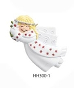 Angel July Christmas Ornament HH300-7