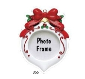 ROUND OVAL ORN PIC FRAME