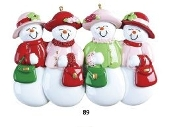 4 Ladies Snow Friends Christmas Ornament RM89