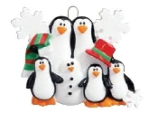 PENGUINS MAKING SNOWMEN -5