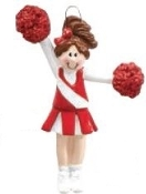 CHEERLEADER RED/BROWN