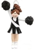 Pompom Girl Black/ Blonde