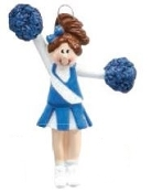 CHEERLEADER BLUE/BLONDE