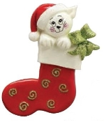 CAT STOCKING