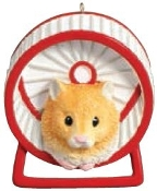 HAMPSTER PERSONALIZED ORNAMENT
