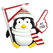 RED/WHITE PENGUIN