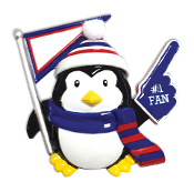 RED/WHITE/BLUE PENGUIN