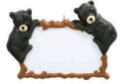 DOUBLE BEAR PLAQUE