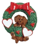 DACHSHUND WREATH