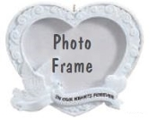 IN OUR HEARTS PIC FRAME