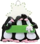Penguin Family of 3,BFF,Christmas Ornament RM734