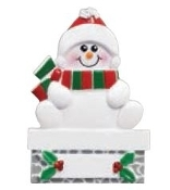 SNOWMAN MANTLE SINGLE