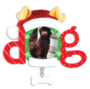 DOG PICTURE FRAME ORNAMENT PF1404
