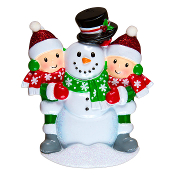 SNOWMAN WITH FAMILY -2