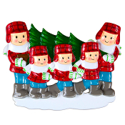 CUT XMAS TREE FAMILY OF 5   OR1366-5
