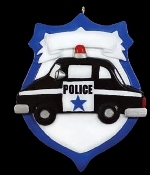 POLICE BADGE HH196