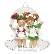 Best Friends or Sisters Christmas Ornament RM826