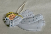 Angel March Christmas Ornament HH300-3