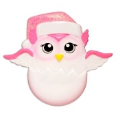 Baby Pink Owl Christmas Ornament OR1626P