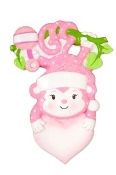 Baby Pink Monkey Christmas Ornament OR1576P