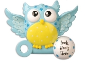 Baby Blue Owl Christmas Ornament OR897B