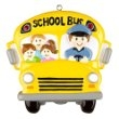 THE BUS DRIVER AND KIDS PERSONALIZED ORNAMENT